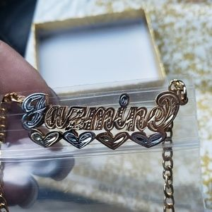 Jewelry - Personalized gold necklace